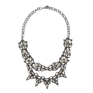 Deepa Gurnani Aria Empress Statement Necklace NIB